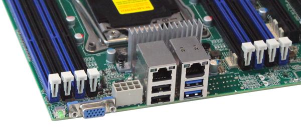 Tyan S7070 Motherboard - IO Ports