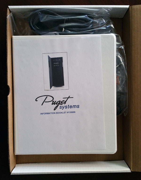 Puget Systems -  Genesis Accessory Box