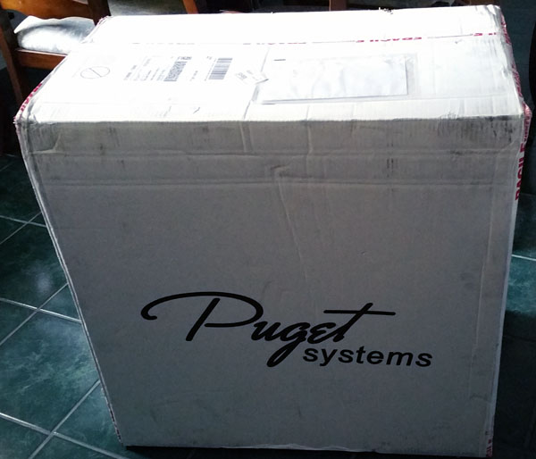 Puget Systems -  Genesis Shipping Box
