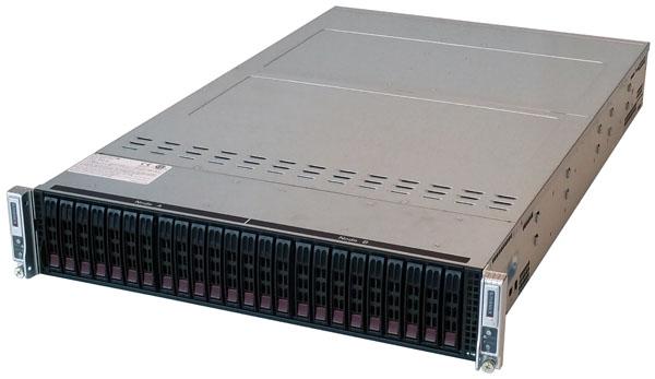 Supermicro 2028TP-DC0FR Front