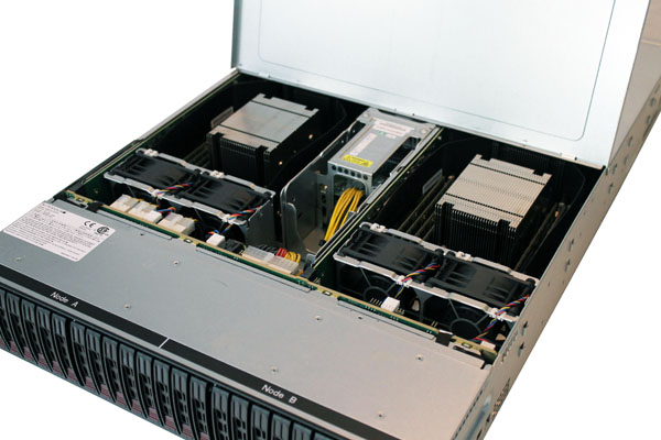 Supermicro 2028TP-DC0FR Top Open