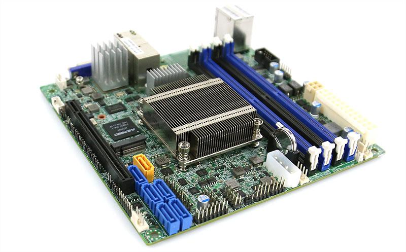 Supermicro X10SDV-4C-TLN2F storage