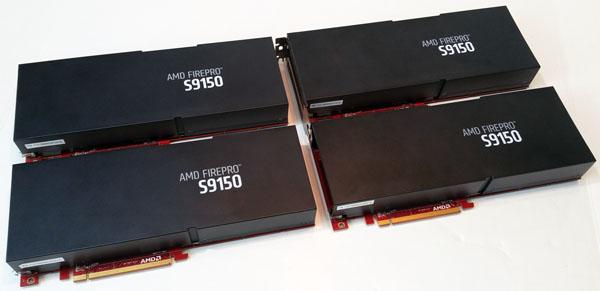 4x AMD S9150 Server GPU's