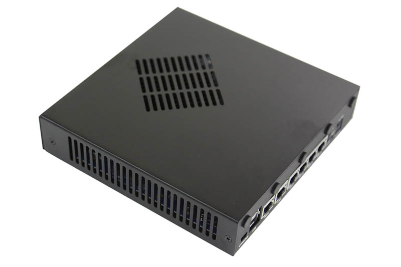 Netgate SG-4860 pfsense top and side