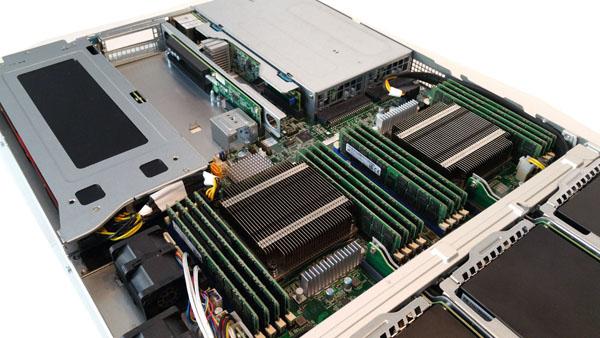 Supermicro 1028GQ-TRT CPU Area
