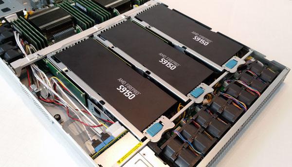 Supermicro 1028GQ-TRT Front GPU Area