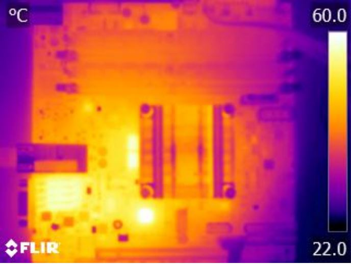 Supermicro X10SDV-4C-TLN2F FLIR thermal imaging