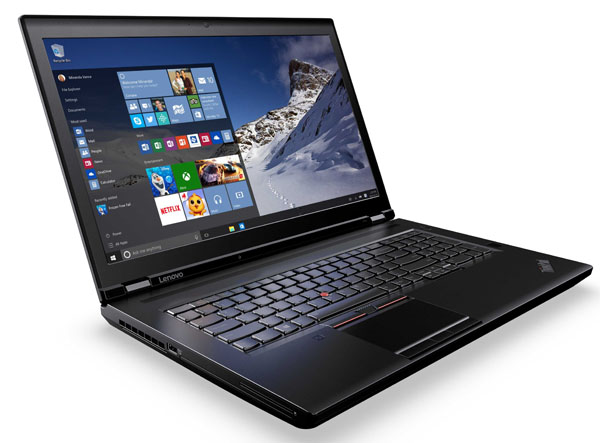 Lenovo ThinkPad P50 and P70 at SIGGRAPH 2015