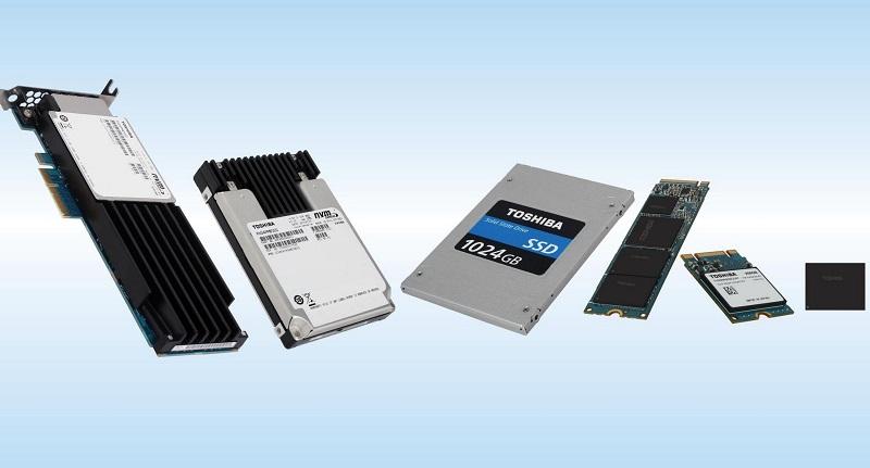 Toshiba 2015 NVMe SSD Lineup