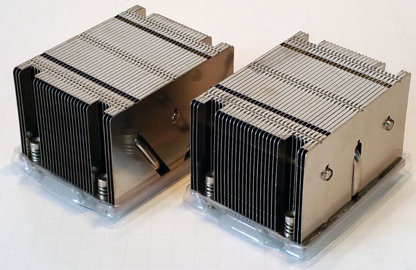 ASRock Rack 3U8G-C612 Heat Sinks
