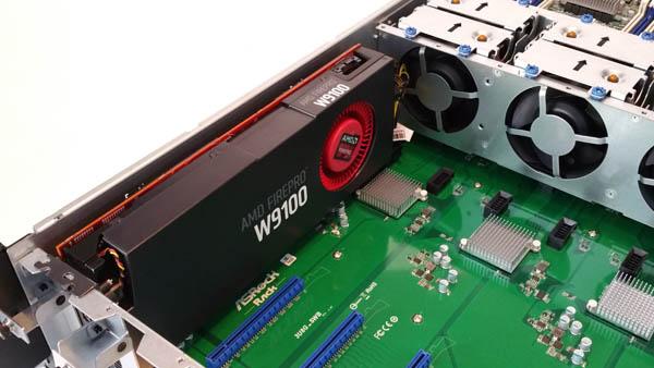 ASRock Rack 3U8G-C612 Installing GPU