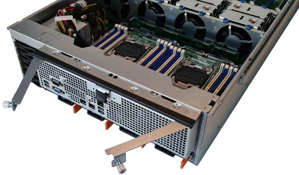 ASRock Rack 3U8G-C612 Motherboard Tray