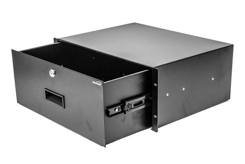 NavePoint 4U Rackmount Drawer Opened