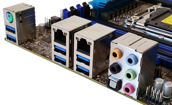 Supermicro C7X99-OCE Motherboard IO