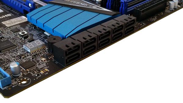 Supermicro C7X99-OCE Motherboard SATA Ports