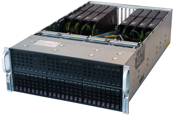 Supermicro 4028GR-TR 4U 8-Way GPU SuperServer Review