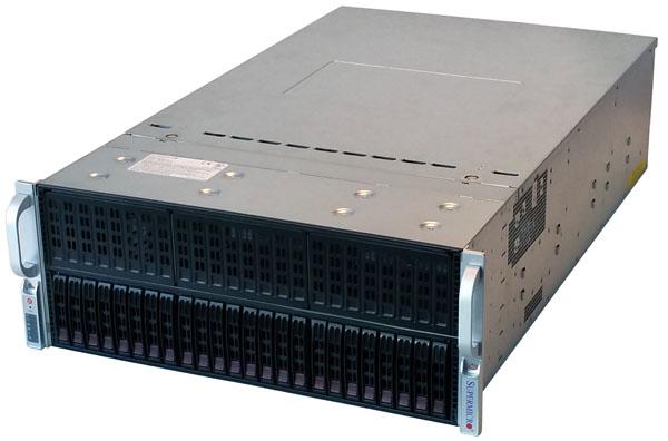 Supermicro GPU-Xeon Phi SuperServer 4028GR-TR
