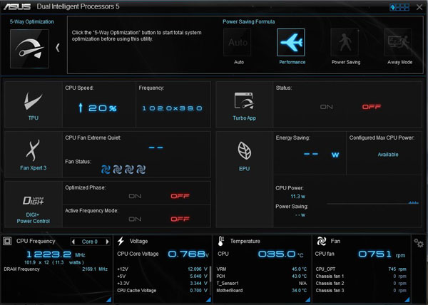 ASUS X99-E WS/USB 3.1 AI Suite 3