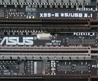 ASUS X99-E WS-USB 3.1 Name Plate