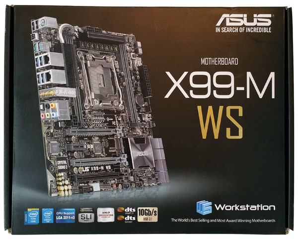ASUS X99-M WS Box Front