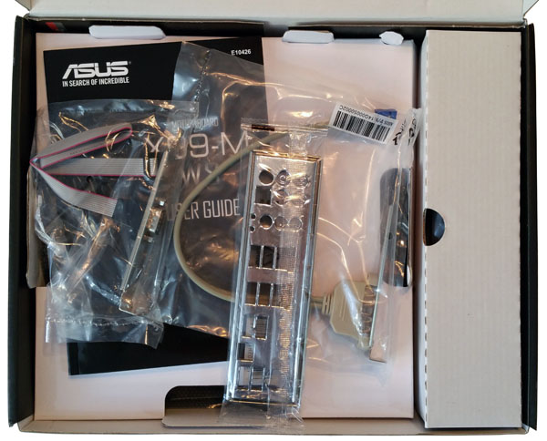 ASUS X99-M WS Box Open