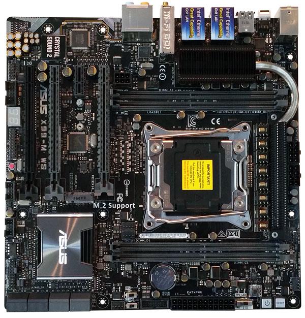 ASUS X99-M WS Top