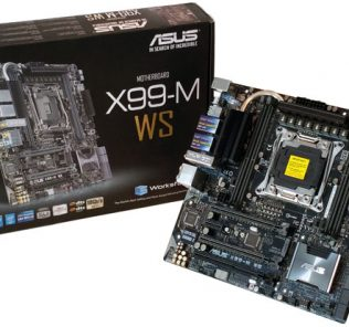 ASUS X99-M WS With Retail Box