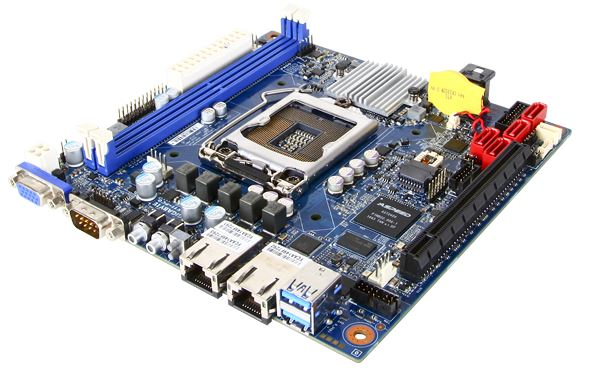 Gigabyte MX11-PC0 mITX with NVMe