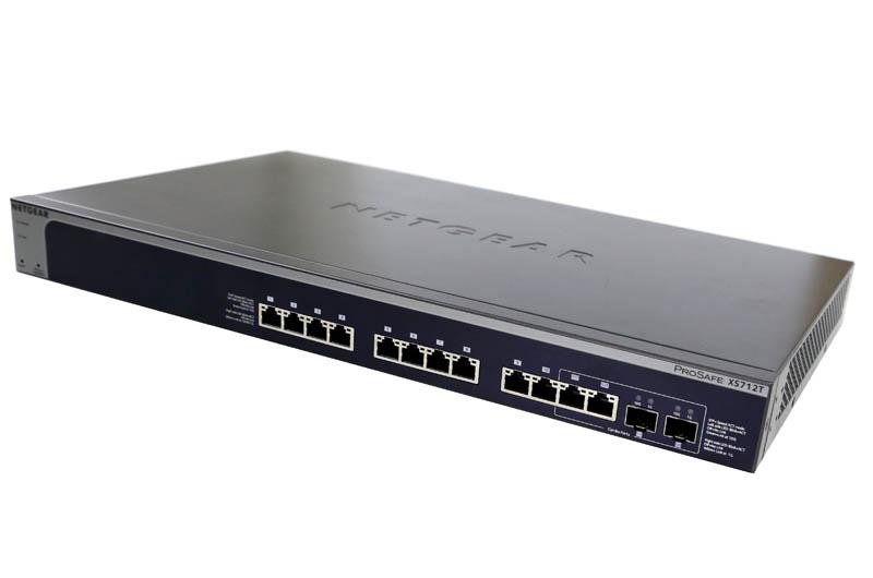 Netgear XS712T Ports