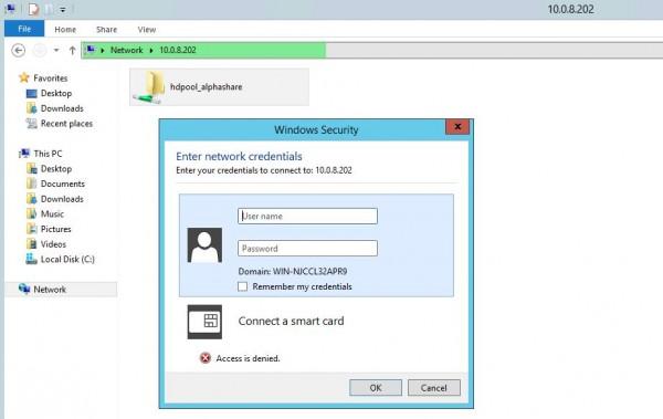 Ubuntu ZFS connect via Windows PC