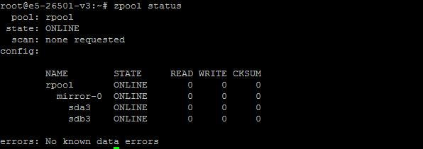 ZFS on Linux - Step 2 - see existing pools