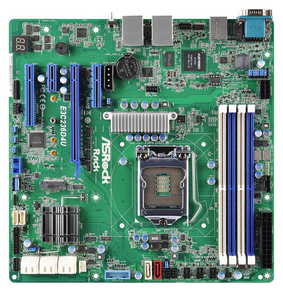 ASRock Rack E3C236D4U top