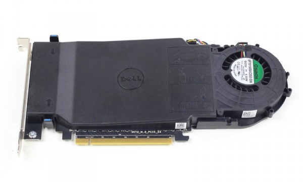 Dell 4x m2 NVMe Drive PCIe Card top