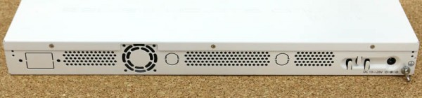 MikroTik CRS226-24G-2S-RM Rear