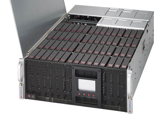 Supermicro 4U-60 Bay open