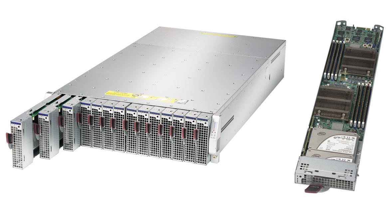 Supermicro Xeon E3-1200 V5 Microblade