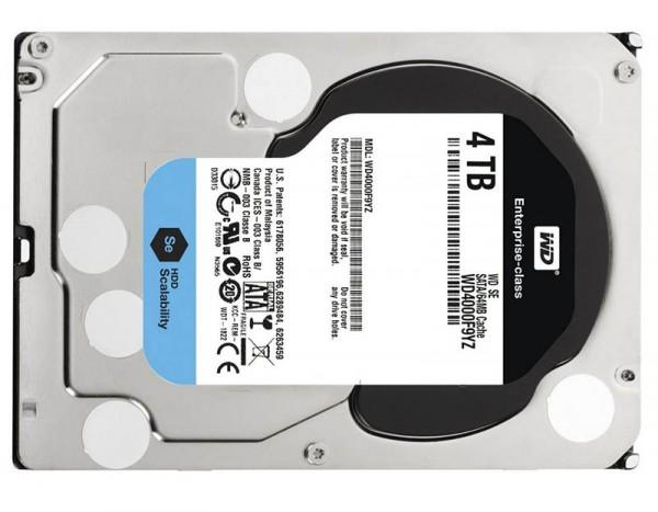 WD SE 4TB drives
