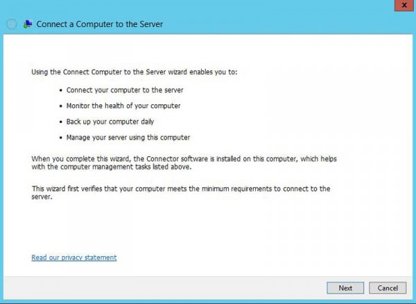 WD Windows Storage Server Connector Install
