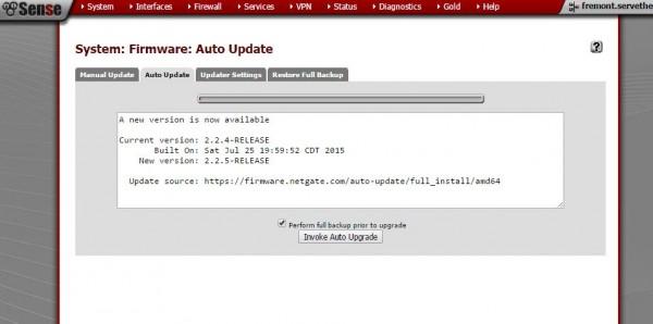 pfSense 2.2.4 upgrade details