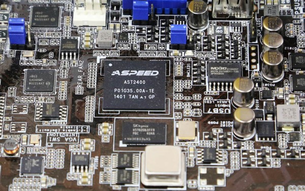 ASUS RS520-E8-RS8 - AST2400 and NICs