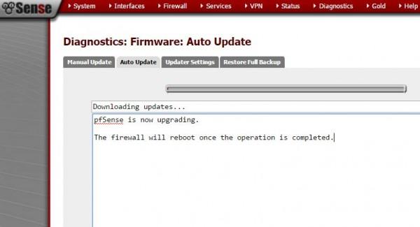 pfSense 2.2.6 Upgrade reboot