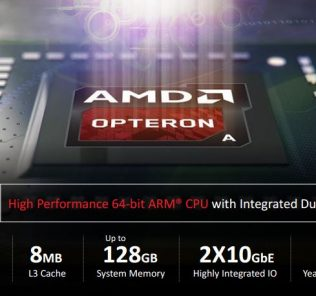 AMD Opteron A1100 series highlights