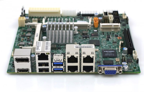 Supermicro X11SBA-LN4F Rear IO