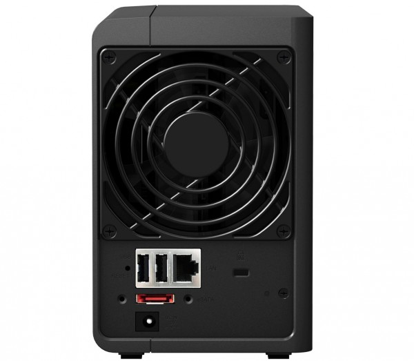 Synology DS216+ Rear