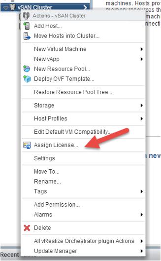 2 node flash vSAN - assign license