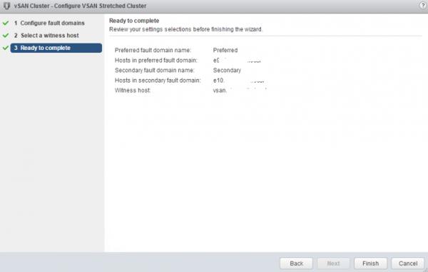2 node flash vSAN - confirm stretched cluster