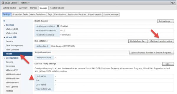 2 node flash vSAN - update HCL database