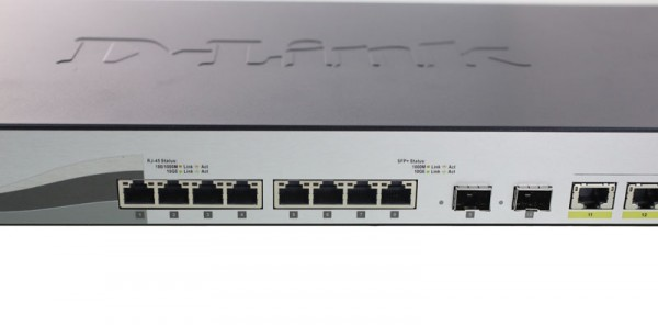 D-Link DXS-1210-12TC Fixed Ports