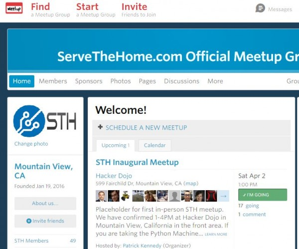 STH Inaugural Meetup