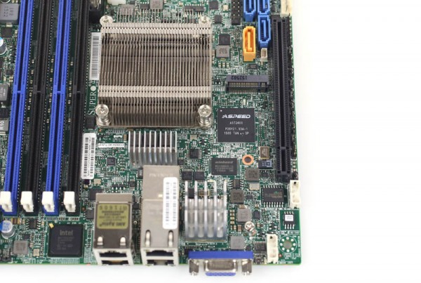 Supermicro X10SDV-4C-TLN4F Aspeed and PCIe m2